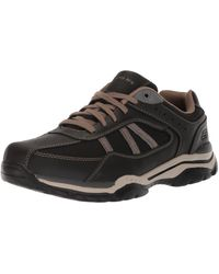 Skechers Usa Relaxed Fit-rovato-soloven Oxford,7.5 M Us,black
