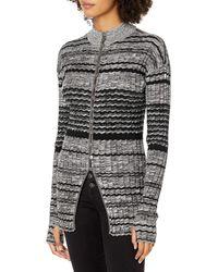 Ramy Brook Amaris Button Down Sweater - Black