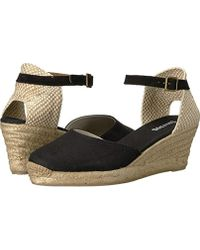 b80e045ab79 Lyst - Soludos Women s Open-toe Midwedge (70mm) Espadrille Wedge ...