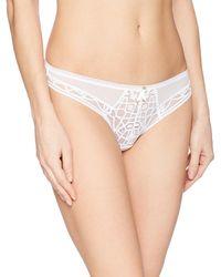 Freya - Soiree Lace Cheeky Brazilian Panty - Lyst
