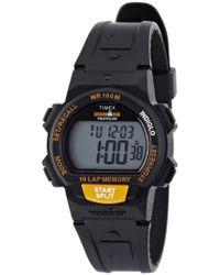 badc9e0c93cb Timex Midsize T5k173 Ironman Basic 100-lap Digital Resin Strap Watch