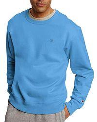 Champion Powerblend Fleece Pullover Sweatshirt - Blue