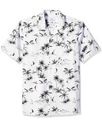28 Palms Standard-fit Tropical Hawaiian - White