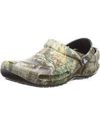 2a6b546cb7be Crocs™ - And Bistro Realtree Edge Work Clog - Lyst