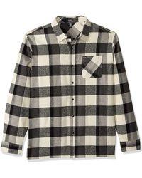 Volcom Neo Glitch Button Up Flannel Shirt - Multicolor