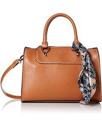 b1fca38224b5 Lyst - Michael Kors Leather Waist Bag Cognac in Metallic