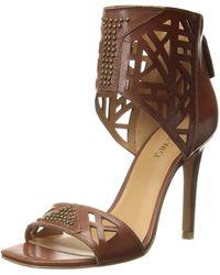 Nine West Karabee (brown Leather) High Heels