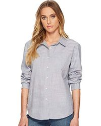 Volcom - Cham Stripe Relaxed Fit Long Sleeve Shirt - Lyst