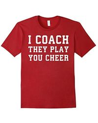 COACH - I They Play You Cheer Ing T-shirt - Lyst
