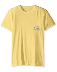 Quiksilver - Faded Potential Short Sleeve Tee - Lyst