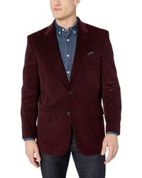 U.S. POLO ASSN. Portly Corduroy Sport Coat - Multicolor