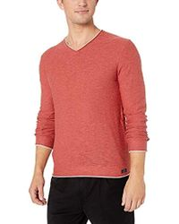 Lucky Brand Welter Weight V-neck Pullover Sweater - Multicolor
