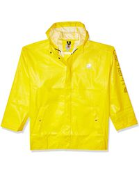 Carhartt Big Big & Tall Lightweight Waterproof Rainstorm Coat - Yellow