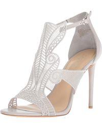 Imagine Vince Camuto Rashi Heeled Sandal - Gray