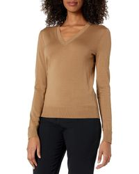 Theory - V-neck Regal Wool Pullover - Lyst
