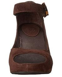Johnston & Murphy - Tricia Ankle Strap Wedge Sandal - Lyst