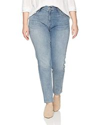 James Jeans - Plus Size High Rise Skinny Jean In Bel-air - Lyst