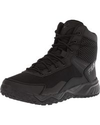 Fila Chastizer Military and Tactical Boot Food Service Shoe - Noir