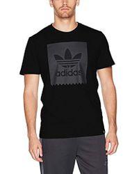 61cbce99ef37a Lyst - adidas Originals Skateboarding Death Can Wait Tee, in Black ...