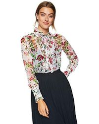 Equipment Floral Symphany Printed Samine Blouse - Multicolor