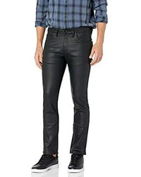 Naked & Famous Skinnyguy Black Waxed Stretch Jean