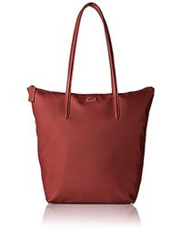 Lacoste - Vertical Shopping Bag, Nf1890po - Lyst