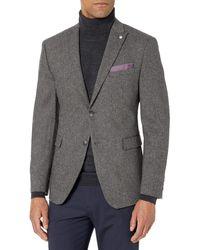 Original Penguin Slim Fit Suit Separates-custom Pant Size Selection - Gray