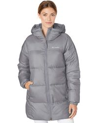 Columbia Puffect Mid Hooded Jacket - Gray