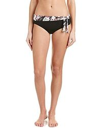 Kensie - Side-tie Bikini Bottom - Lyst