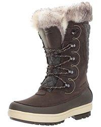 Helly Hansen Garibaldi Vl Lux Waterproof Warm Winter Boot With Faux Fur And Grip - Black