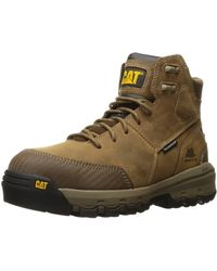 Caterpillar - Device Comp Toe Waterproof Work Boot - Lyst