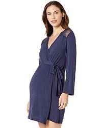 Rosie Pope Pip N Vine Maternity Robe - Blue
