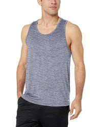 Amazon Essentials Tech Stretch Performance Tank Top Shirt - Gray