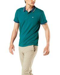 Dockers Short Sleeve Polo - Blue