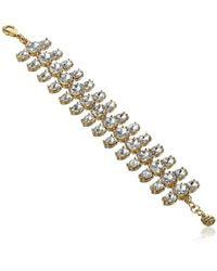 "Juicy Couture - Gemstone Bracelet, 7.56"" - Lyst"