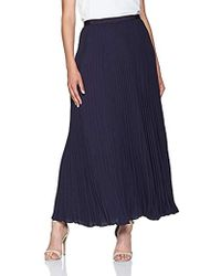 French Connection - Classic Crepe Light Woven Pleated Skirt - Lyst