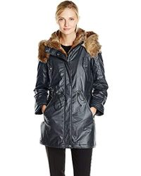 Marc New York - Lauren Coated Cotton Anorak - Lyst