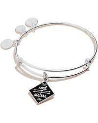 ALEX AND ANI Soul Sisters Expandable Bangle Bracelet For - Metallic
