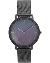 Rebecca Minkoff Quartz Watch With Stainless Steel Strap - Black