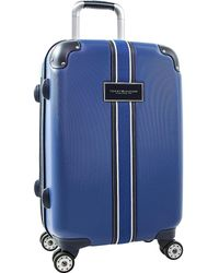 Tommy Hilfiger Classic Expandable Hardside Spinner Luggage - Blue