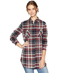BB Dakota - Sylvia Plaid Button Up Shirt With Pockets - Lyst