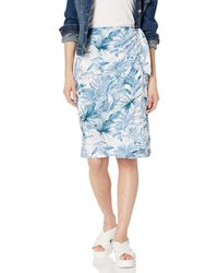 Only Hearts Lazy Mayzie Sarong Skirt - Blue