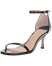 fc8598095f0 Stuart Weitzman - Fame 80 (pitch Black Panto) Women s Shoes - Lyst
