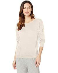 Hanro Soho Long Sleeve Pullover 77821 - Natural