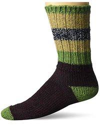 Woolrich - Merino Stripe Ragg Wool Sock - Lyst