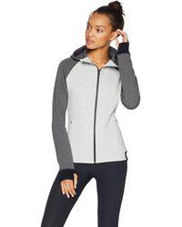 Core 10 - Plus Size Motion Tech Fleece Fitted Full-zip Hoodie Jacket - Lyst