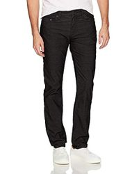 True Religion - Rocco Relaxed Skinny Corduroy1 - Lyst