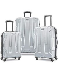 Samsonite Centric Expandable Hardside Luggage With Spinner Wheels - Metallic