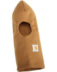 Carhartt Face Mask,brown,one Size