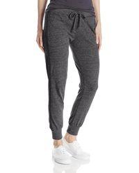 Alternative Apparel Jersey Jogger Pant - Black